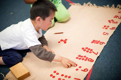 Why Montessori Preschool Education is Important - Counting
